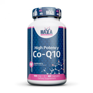 Haya Labs High Potency Co-Q10 100mg 60vcaps