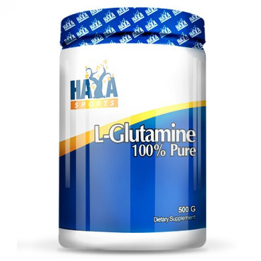 Haya Labs 100% Pure L-Glutamine 500g