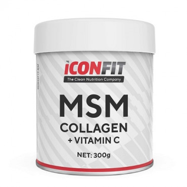 ICONFIT MSM Collagen + Vitamin C, 300g