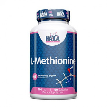Haya Labs L-Methionine 500mg 60caps