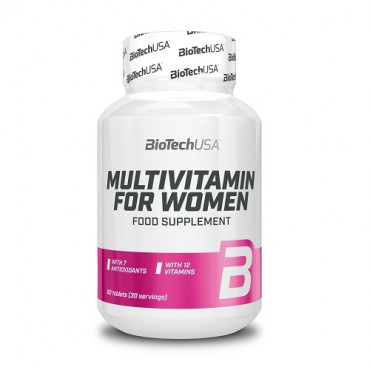 BioTech USA Multivitamin for Women, 60tabs