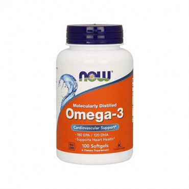 Now Foods Omega 3 100caps