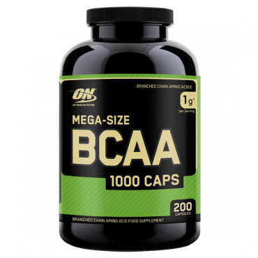 Optimum Nutrition BCAA 1000, 200caps
