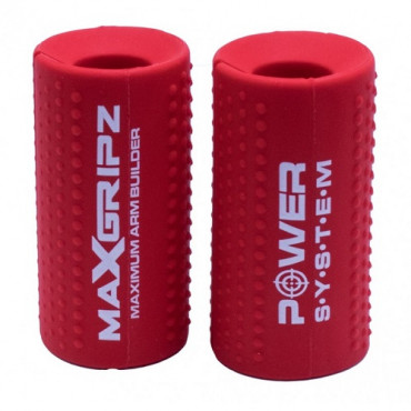 Power System Max Gripz Red