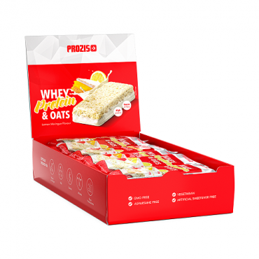 Prozis Whey Protein & Oats Bar 80g