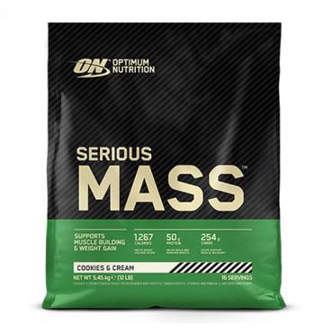 Optimum Nutrition Serious Mass, 5.45kg