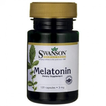 Swanson Melatonin 3mg, 120tabs