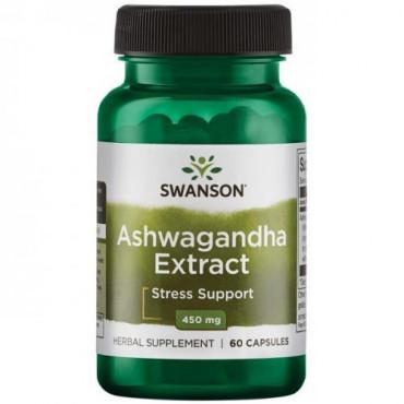 Swanson Ashwagandha Extract, 60caps