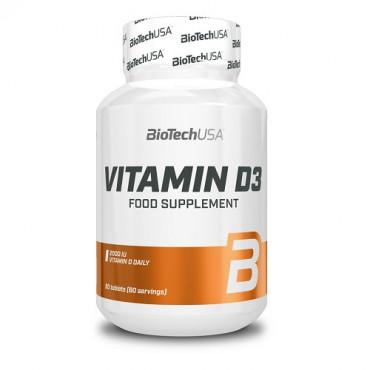 Biotech USA Vitamin D3, 60tabs