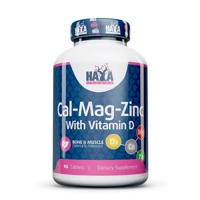 Haya Labs Calcium Magnesium Zinc with Vitamin D 90tabs