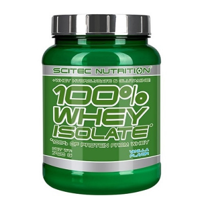 Scitec 100% WHEY ISOLATE, 700g