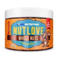 AllNutrition Nutlove Whole Nuts Almonds in Dark Chocolate with Raspberry Powder 300g