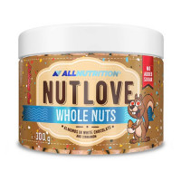 AllNutrition Nutlove Whole Nuts Almonds In White Chocolate And Cinnamon 300g