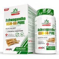AMIX ProVegan Ashwagandha KSM-66 Pure 60vcaps