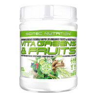 Scitec Vita Greens & Fruits with Stevia 360g
