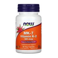 Now Foods MK-7 Vitamin K-2 100 mcg 60vcaps