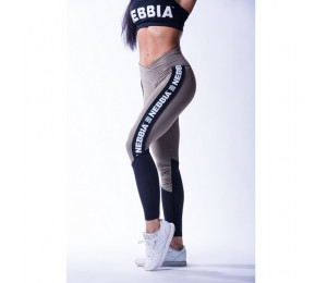 Nebbia High waist mesh leggings 601 Khaki