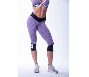 Nebbia High waist ¾ leggings 607 Purple