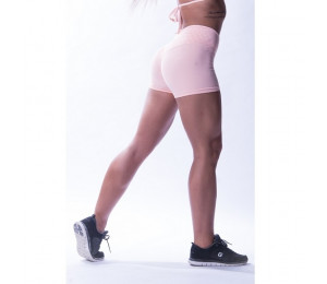"Nebbia High waist ""Ns"" shorts 648 Salmon"