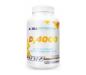 AllNutrition Vitamin D3 4000IU 120tabs