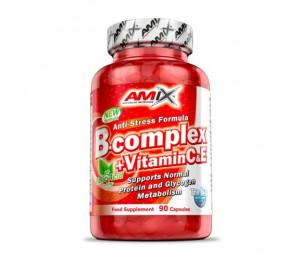 AMIX B-Complex+vit C & vit E 90caps (Parim enne:12.2020)