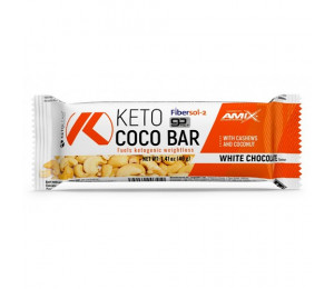 AMIX KetoLean Keto Coco Bar 40g