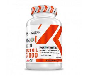 AMIX KetoLean Keto MCT Oil 3000mg 100caps