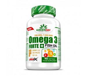 AMIX Omega 3 FORTE+  90 softgels