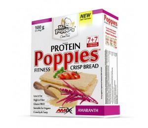 AMIX Poppies Crisp Bread Protein 100g Amaranth