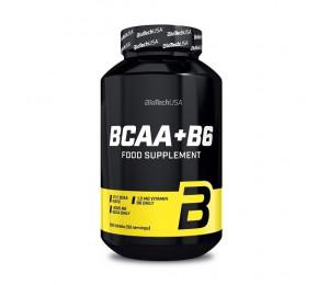 BioTech USA BCAA+B6, 200tabs