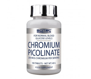 Scitec Chromium Picolinate, 100caps