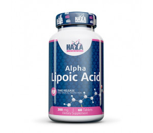 Haya Labs Alpha Lipoic Acid, Time Release, 300mg 60tabs