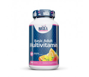 Haya Labs Basic Adult Multivitamin 100tabs