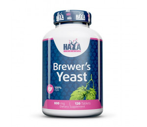 Haya Labs Brewer's Yeast 800mg 120tabs
