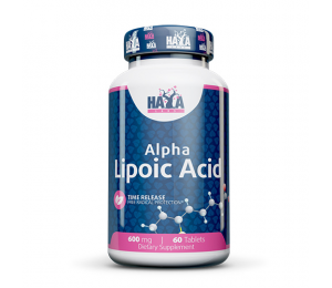 Haya Labs Alpha Lipoic Acid, Time Release, 600mg 60tabs