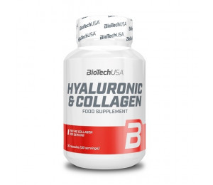 BioTech USA Hyaluronic & Collagen 30caps