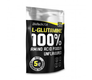Biotech USA 100% L-Glutamine, 1000g bag