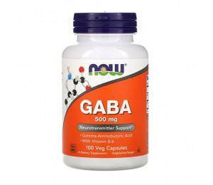 Now Foods GABA 500mg 100vcaps