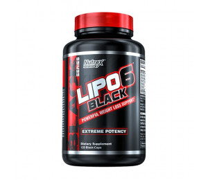 Nutrex Research Lipo-6 Black 120caps