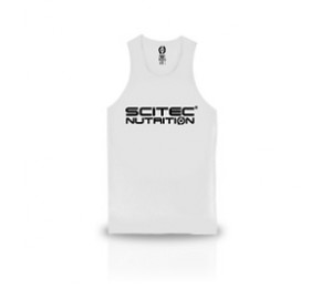 Scitec Normal White Tank Top