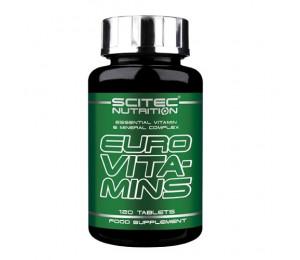 Scitec EURO VITA–MINS, 120tabs