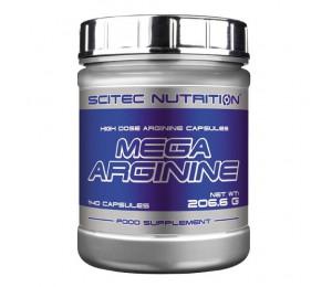 Scitec MEGA ARGININE, 140 caps