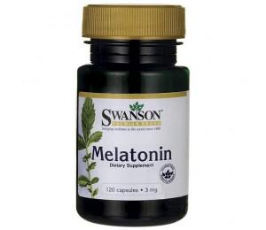 Swanson Melatonin 3mg, 120tabs