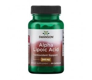 Swanson Alpha Lipoic Acid 300mg 60caps