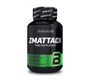 Biotech USA ZMAttack, 60caps