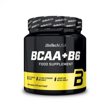 BioTech USA BCAA+B6, 340tabs