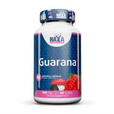 Haya Labs Guarana 900mg 60tabs