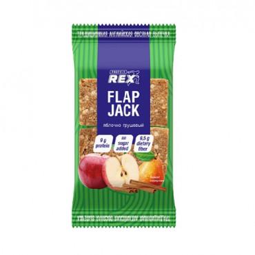 ProteinRex Oatmeal Protein Cookies Flap Jack 60g Apple Pear (Parim enne: 04.05.2021)