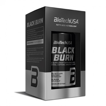 BioTech USA Black Burn 90caps