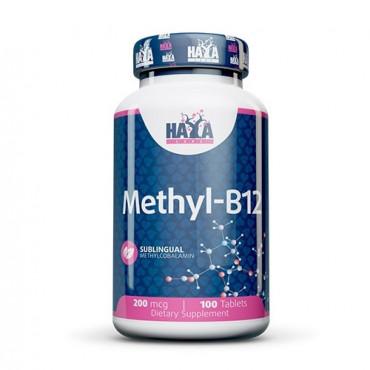 Haya Labs Methyl B12 200mcg 100tabs